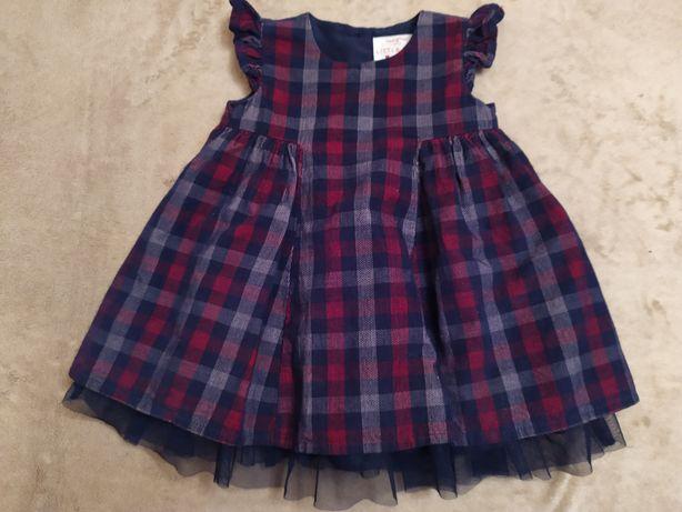 Платье для девочки 1-2 года.