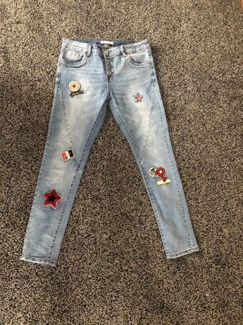 Jeansy, spodnie, jeansy damskie 38