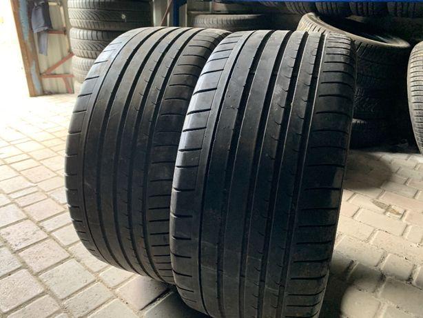 лето 275/30/ZR21 6.3мм Dunlop 2шт резина шины шини R21