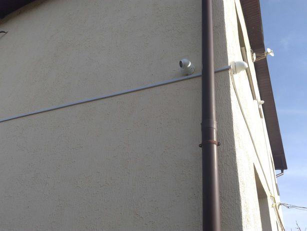 Установка видеонаблюдения и охранной сигнализации