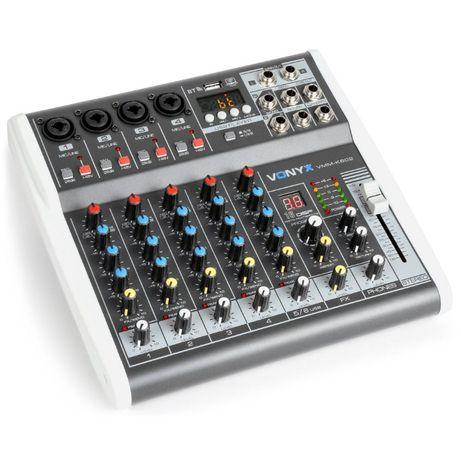 Mikser 6 kanałowy Vonyx VMM-K602 DSP