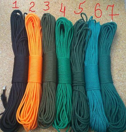 Паракорд для плетения темляков, браслетов.