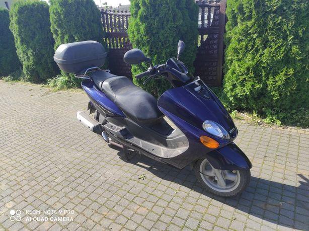 Yamaha majesty 125 zamiana zamienię na motocykl quad cross prl