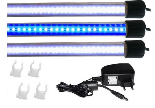 Oświetlenie akwarium led 3X90 CM ZESTAW MALAWI