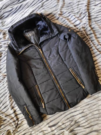 Kurtka /płaszcz czarny