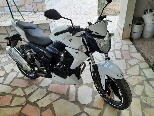 sym wolf 125cc com 8.536 km