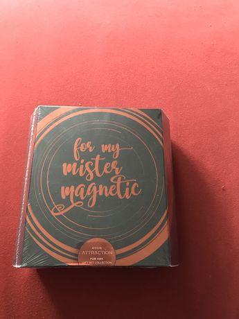 AVON For My Mister Magnetic - zestaw Attraction dla mężczyzny (nowy)