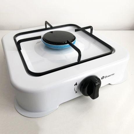 Газовая плита DOMOTEC MS-6601 на 1 конфорку. Цвет : белый
