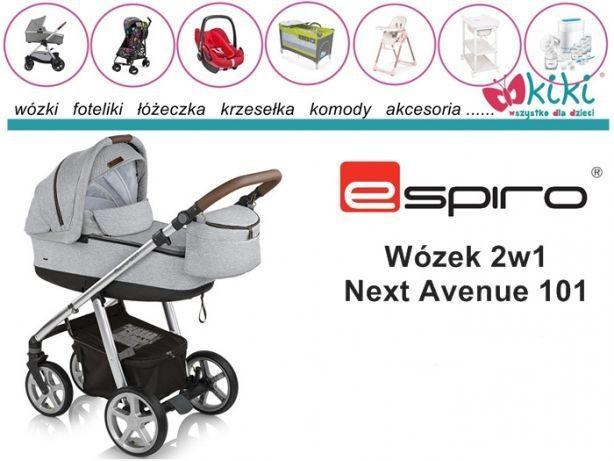 Wózek uniwersalny 2w1 Espiro Next Avenue 101