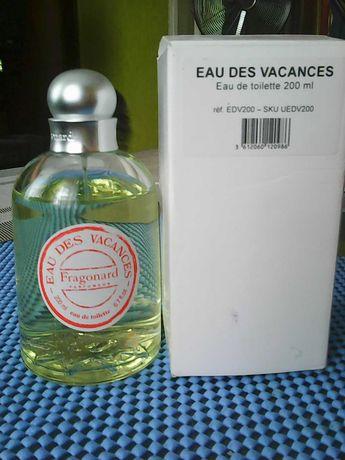 Туалетна вода Eau des Vacances Fragonard 200ml