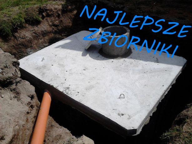 szambo 4m3 szamba betonowe zbiornik na deszczówkę kanał betonowy