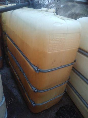 Zbiornik 1600l na ropę olej paliwo wodę baniak szambo deszczówkę płyn