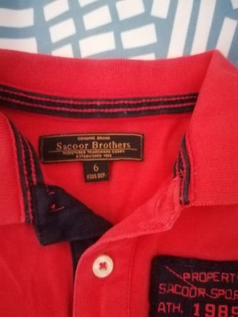 T-shirt saccor Brothers 6 anos