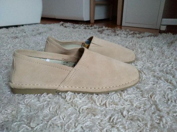 Nowe buty, mokasyny skóra roz.42 B.P.C. Bonprix