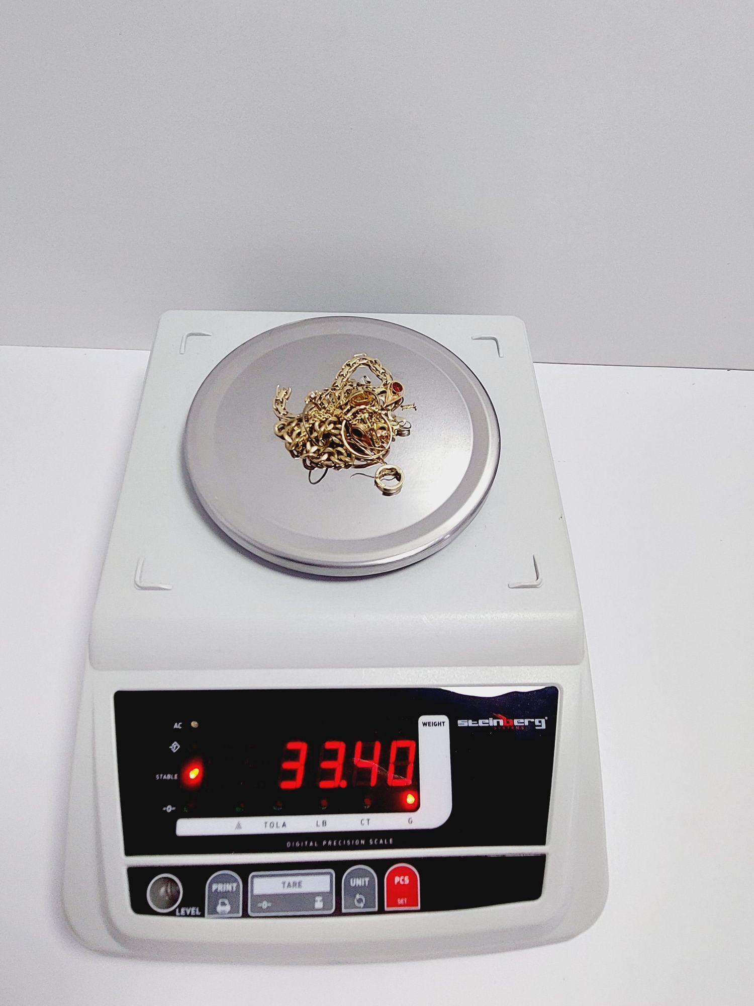 Złom złota  585 złoto