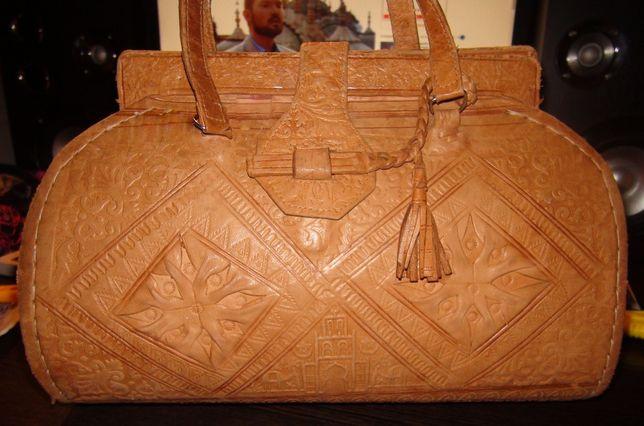 сумка кожа верблюда сумка-саквояж