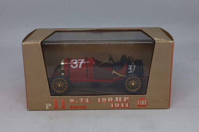 FIAT S.74 CORSA 190HP (1911) - Brumm r11 Made in Italy 1:43