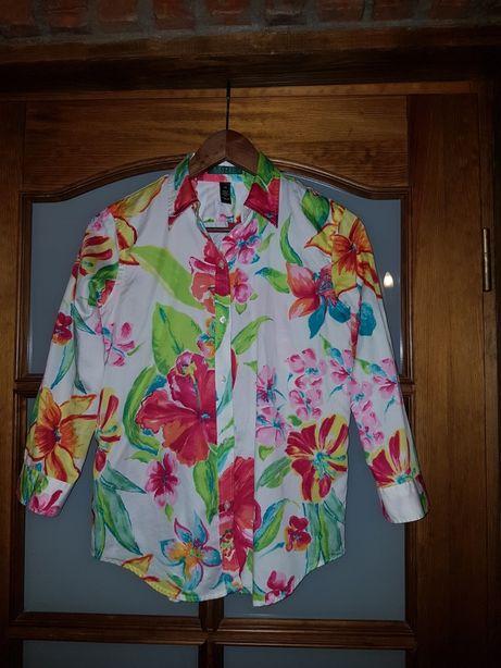 Piękna bluzka Ralph Lauren XS S jak nowa.