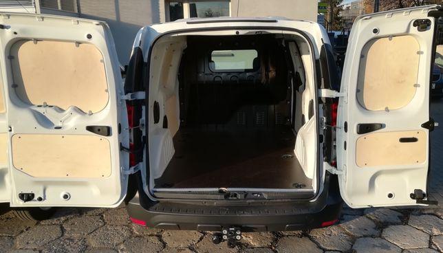 Dacia Dokker, zabudowa bus, podłoga, boki
