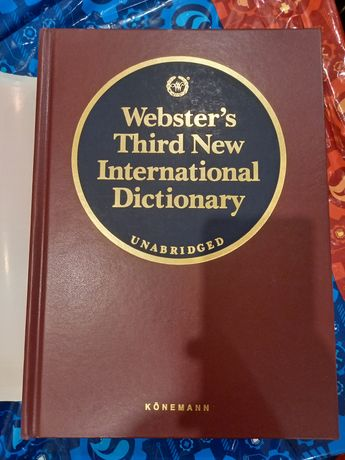Slownik Webster's third new international dictionary