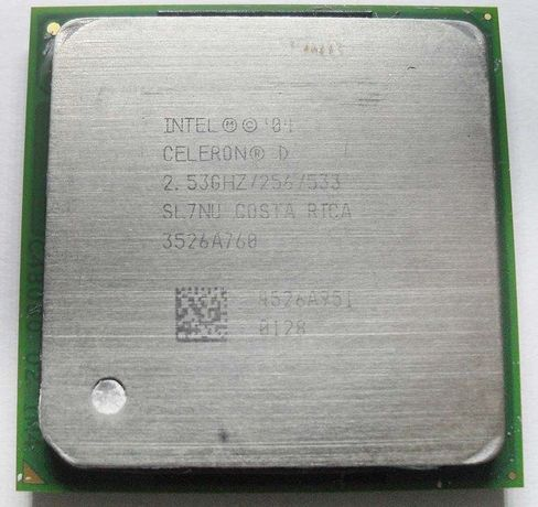 Процессор Intel Celeron D 2.53GHz (Socket 478)