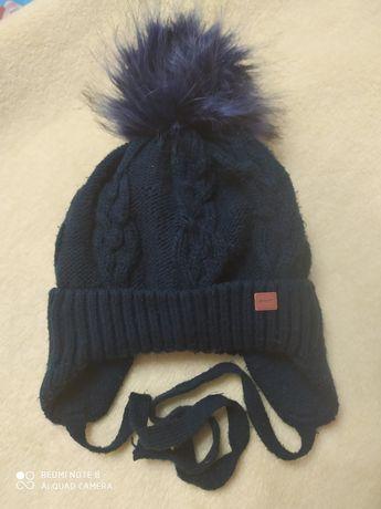 Зимова шапка на хлопчика 2-3роки