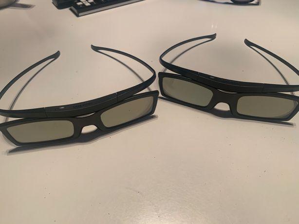2 szt. okulary 3d active ssg-5100gb TV samsung Poznań