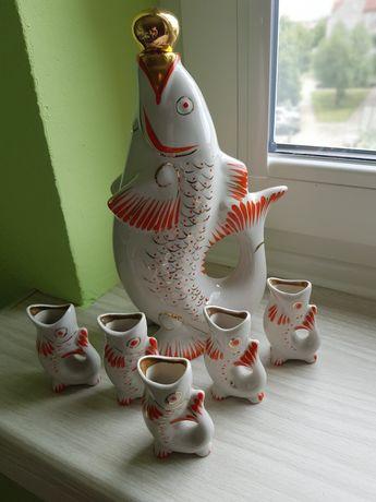 Karafka rybki PRL