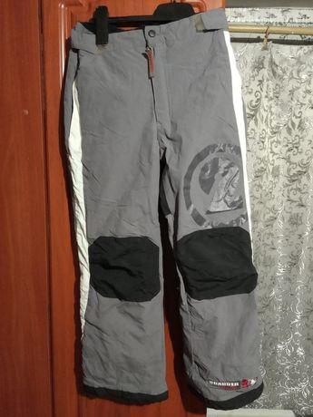 Штаны лыжные термоштаны.теплые