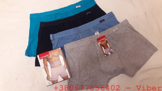 Мужские трусы боксеры Cornette Authentic Perfect mini шорты
