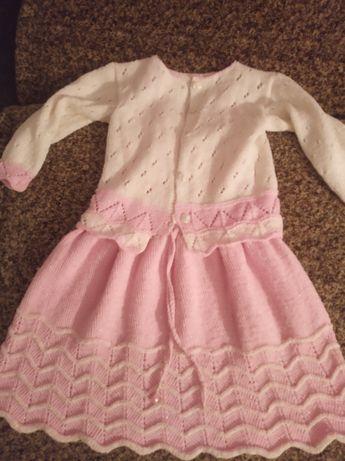 Платье ( зима) цена 400 рубл
