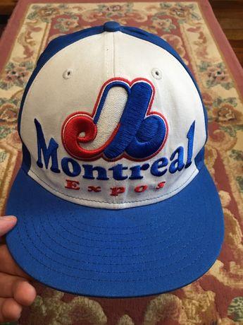 58.7 см NEW ERA Montreal Retroкепка бейсболка реперка снепбек snapback