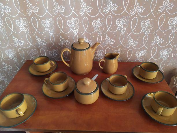 Vintage porcelanowy zestaw kawowy