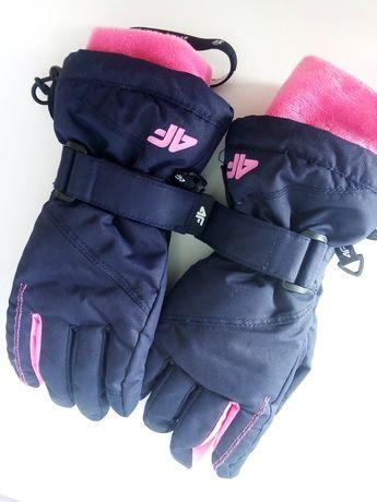 NOWE Rękawiczki dziewczęce 4f XS