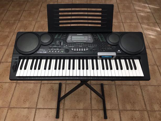 Orgão Teclado Piano MIDI Música Sintetisador