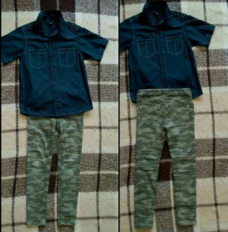 камуфляжные скины +рубашка