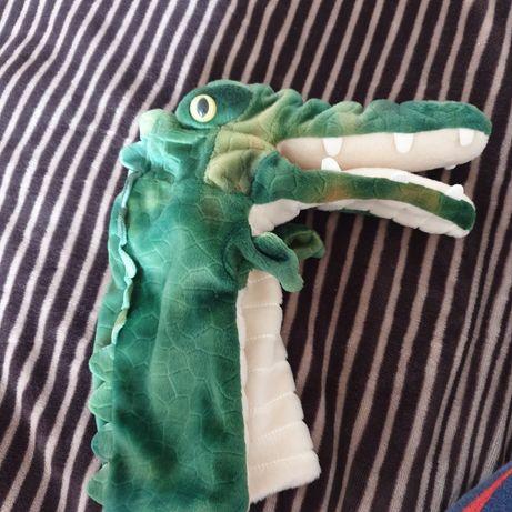 Игрушка на руку кукольный театр крокодил аллигатор
