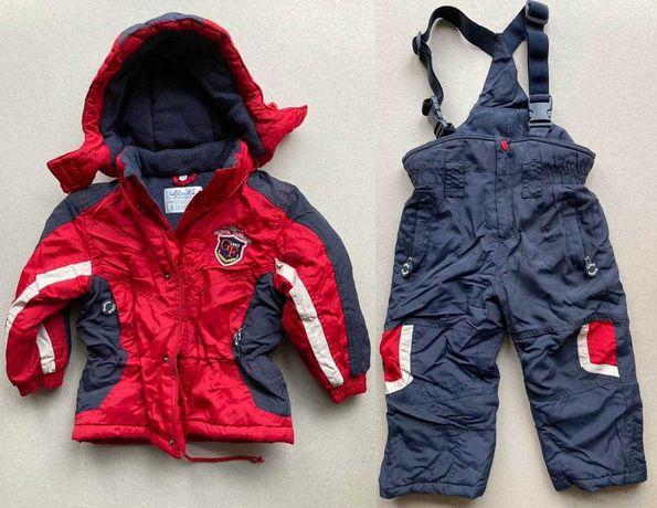 Kombinezon narciarski roz. 92, kurtka + spodnie, Gluck fashion