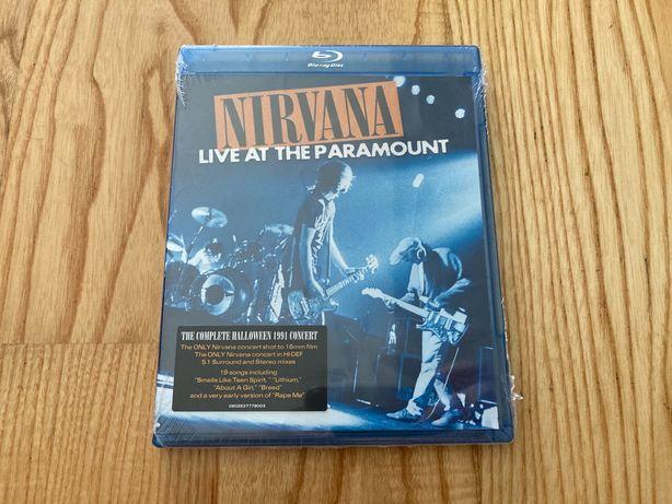 Blu-ray Nirvana Live at the Paramount, novo por abrir