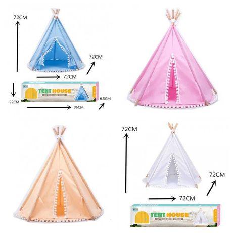 Палатка детская Вигвам, шалаш для дома 72х72х72 см