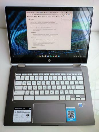 Ноутбук трансформер HP Chromebook x360 14b-ca0061wm Intel 8/128Gb SSD