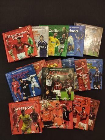 Słynne kluby piłkarskie - 17 książek