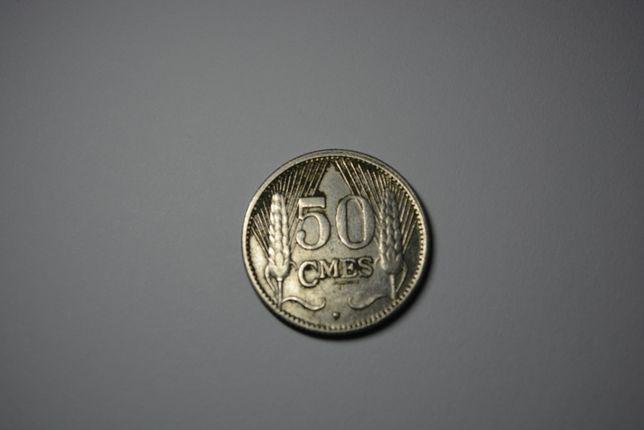50 сантимов ,Люксембург,1930 никель