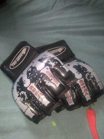 Перчатки ММА  BASH-GAL оригинальные, кожаные