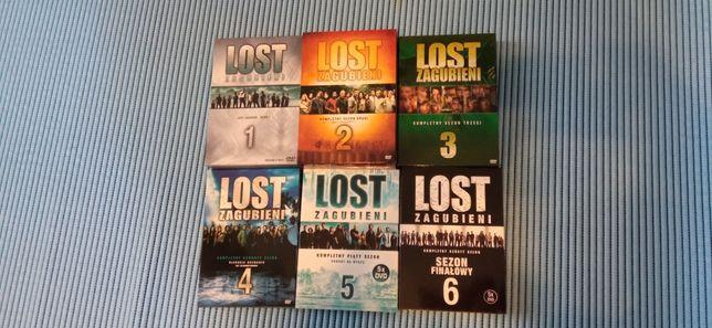 Lost zagubieni dvd sezony 1-6 komplet Pl