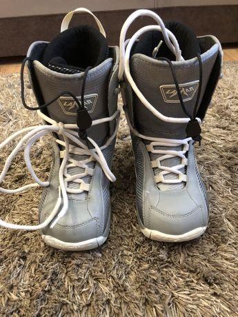 Buty snowbordowe lamar 34.5 idealne dla dziecka