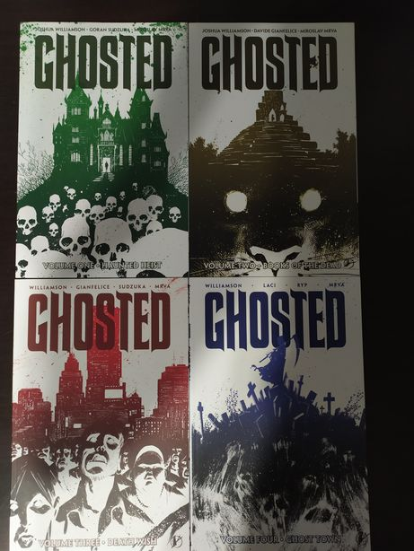 Ghosted 1-4 image comics