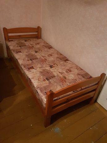 Łóżko drewniane 205/87 + materac