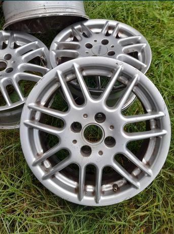 Felgi aluminiowe R15 6.50J do opon 195x65, 4 śruby, oryginalne Renault