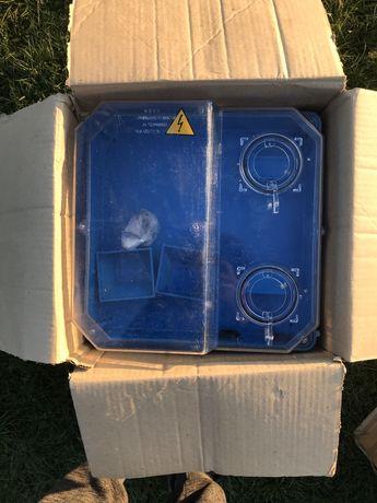 Коробка під трифазний лічильник 3Ф КДЕ - У IP55 Щит